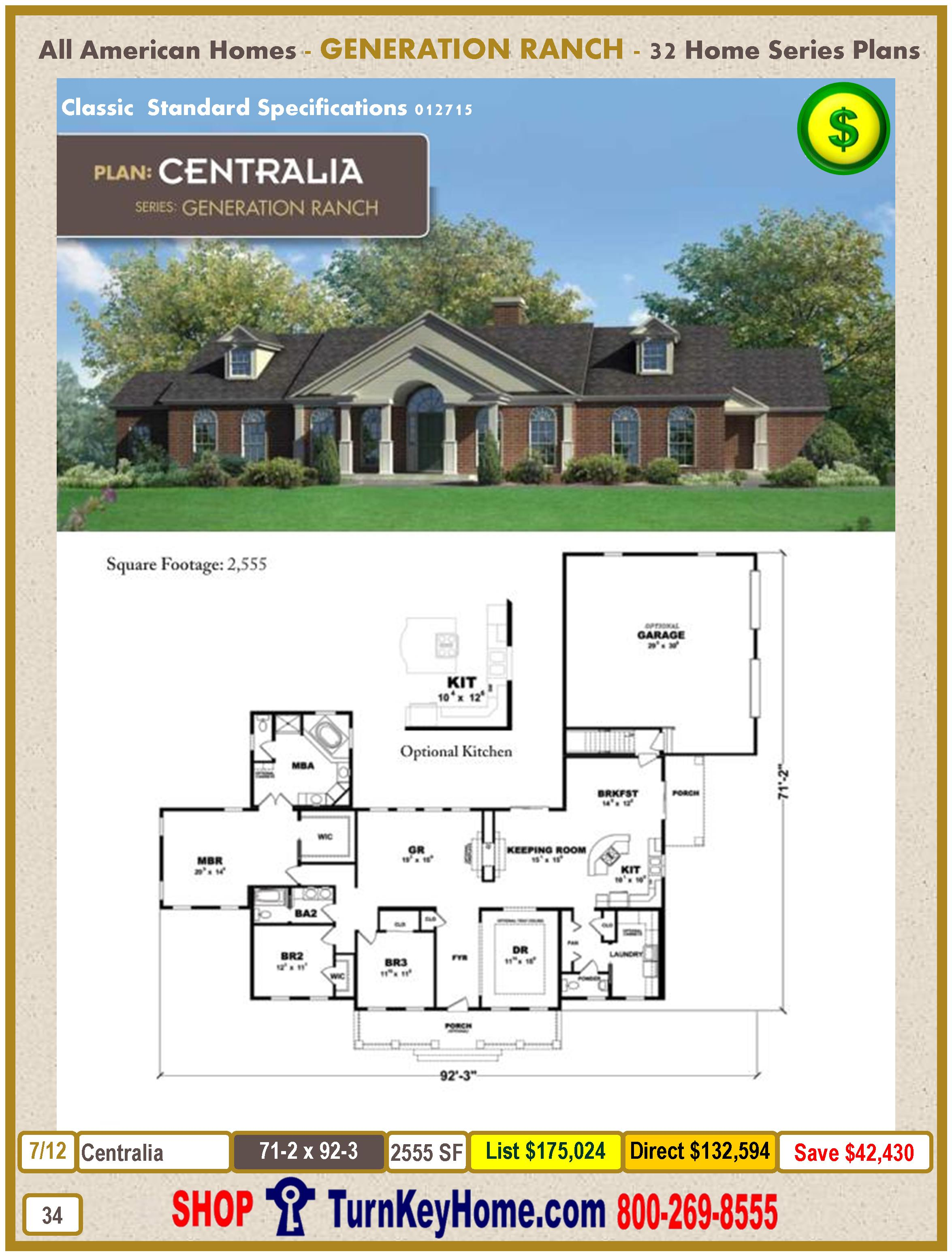 Modular.All.American.Homes.Generation.Ranch.Home.Series.Catalog.Page.34.Centralia.Direct.Price.021415