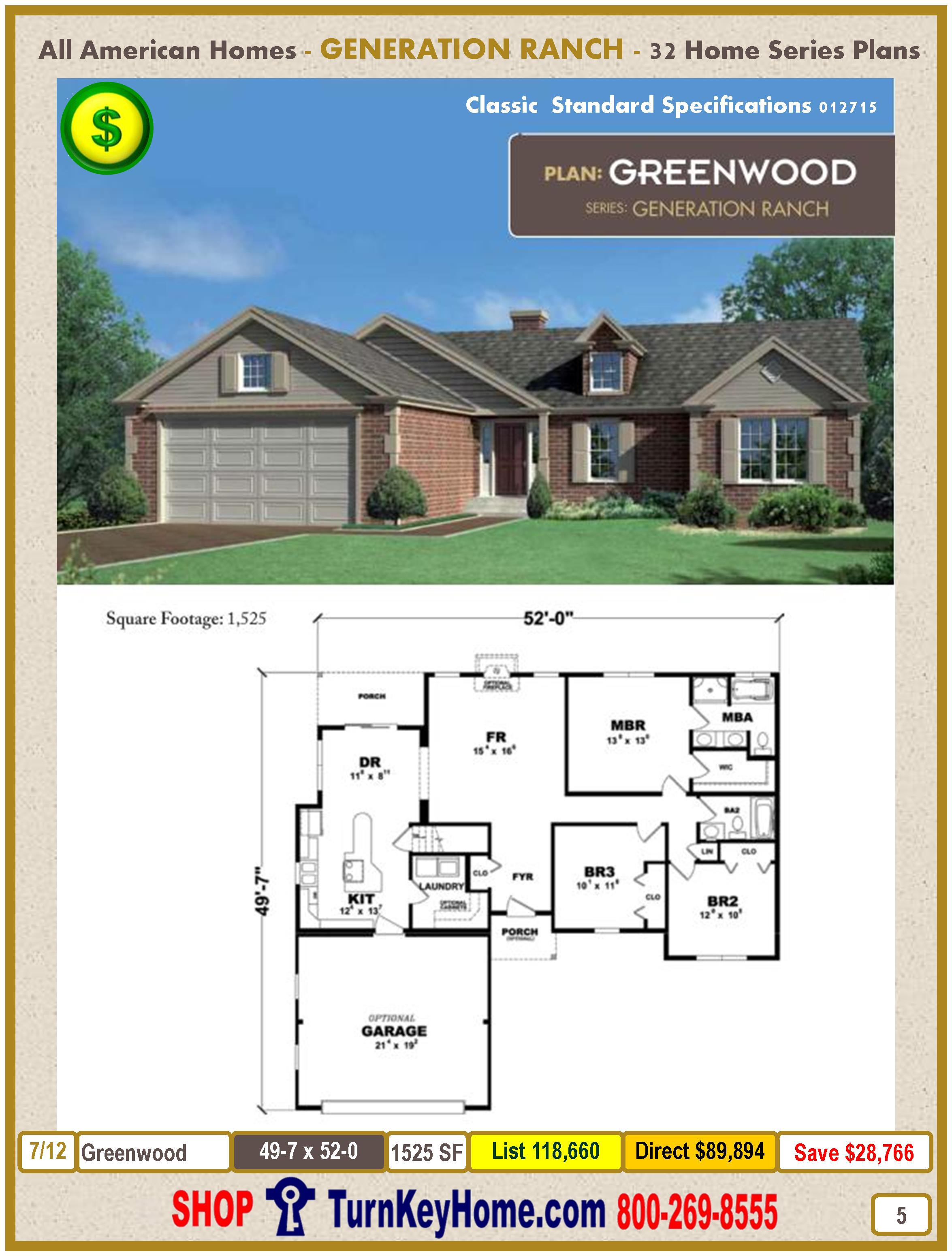Modular.All.American.Homes.Generation.Ranch.Home.Series.Catalog.Page.5.Greenwood.Direct.Price.021415