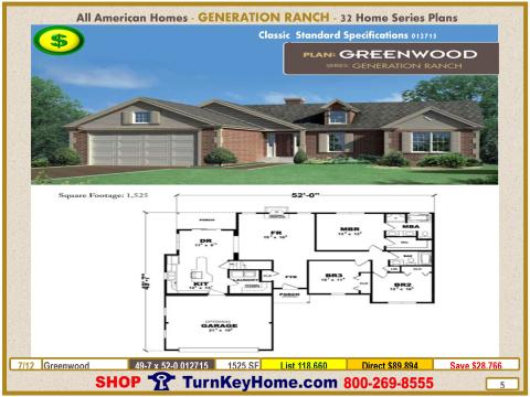 Modular.All.American.Homes.Generation.Ranch.Home.Series.Catalog.Page.5.Greenwood.Direct.Price.021415p