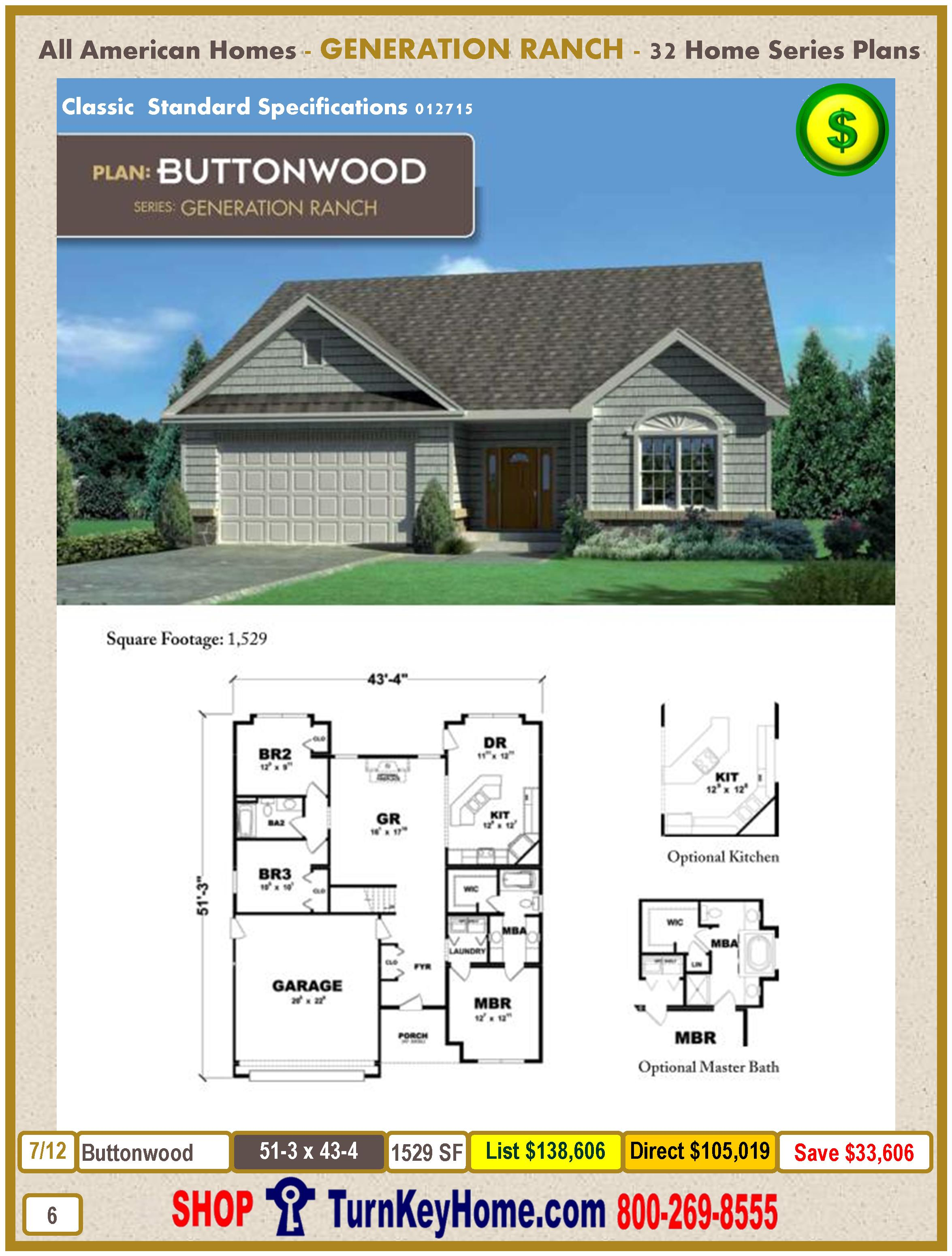Modular.All.American.Homes.Generation.Ranch.Home.Series.Catalog.Page.6.Buttonwood.Direct.Price.021415