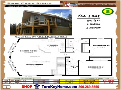 The.2742.2740.Prow.Cabin.Series.All.American.Homes.Modular.Designed.Home.Plan.Catalog.Priced.Page.2.052415.p