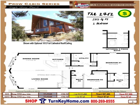 The.2752.2750.Prow.Cabin.Series.All.American.Homes.Modular.Designed.Home.Plan.Catalog.Priced.Page.3.052415.p