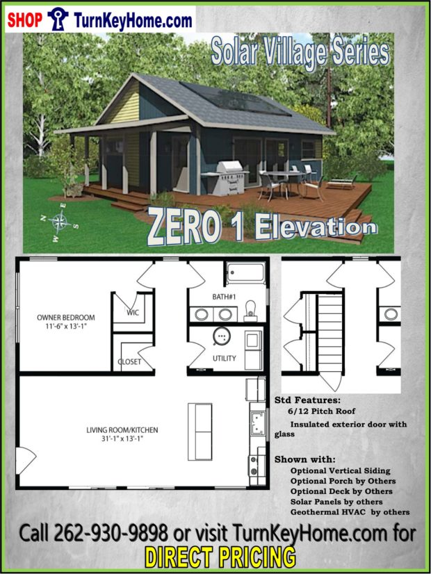 ZERO 1 Solar Village Series 1 Bed 1 Bath Plan Priced from ... Zero Lot Home Exterior Designs on quad level homes, duplex homes, subdivision homes, model homes, fixer upper homes, corner lot homes, historical homes, acreage homes, tri-level homes, single family homes, apartment homes, double wide homes, loft homes, conner homes, elevated homes, a frame homes, residential homes, multi-family homes, condo homes, bermed homes,
