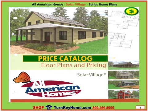 Solar.Village.All.American.Homes.Modular.Home.1.Cover.Price.Catalog.060615p
