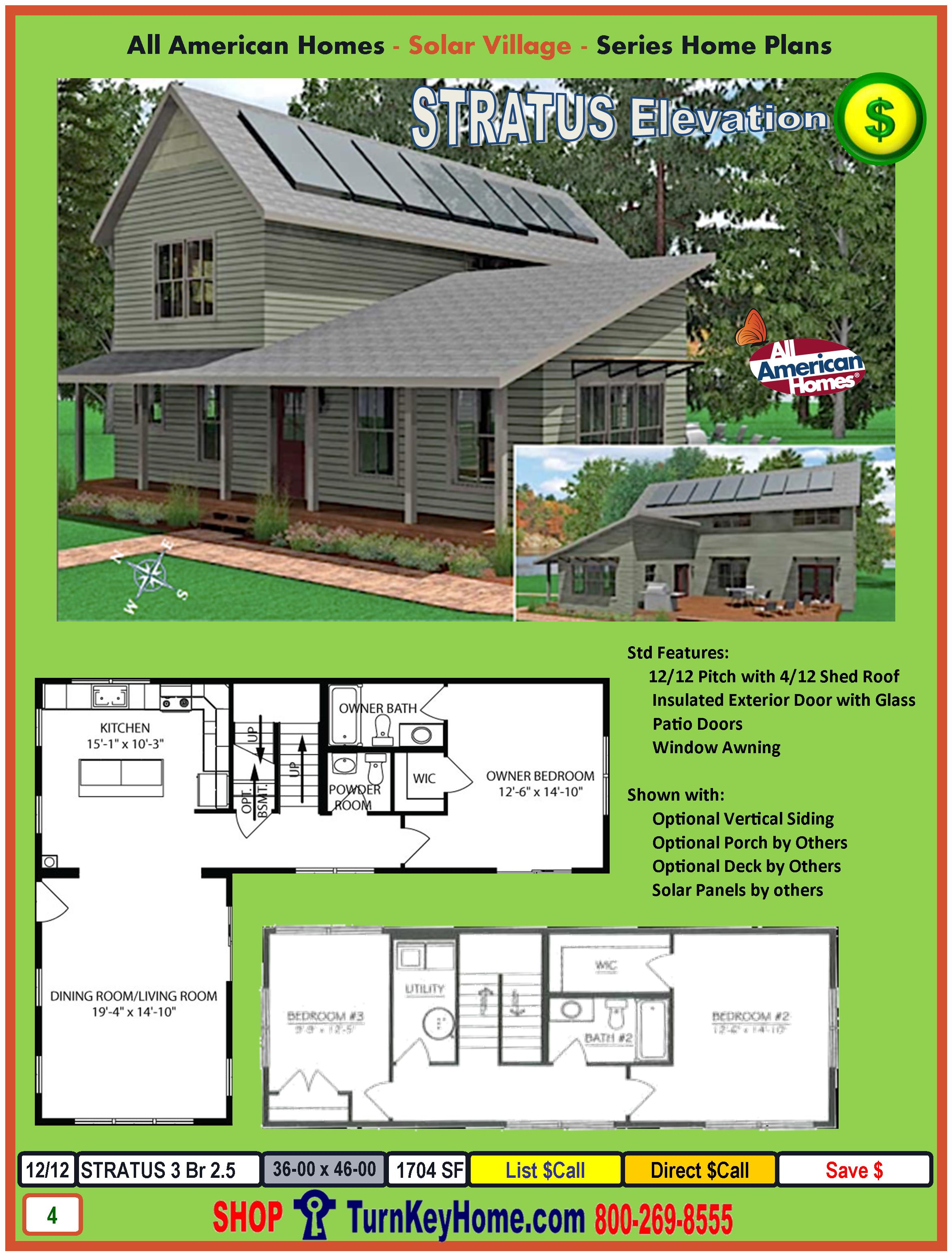 Stratus Solar Village Collection Modular Home Design From All - Home designers collection