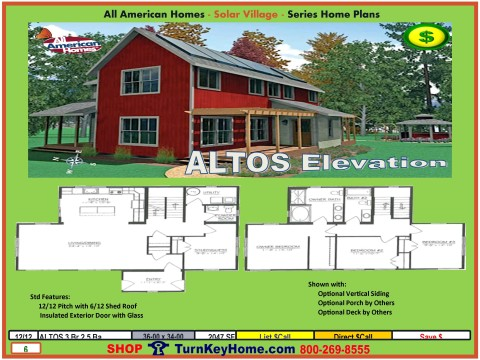 Altos Solar Village Collection