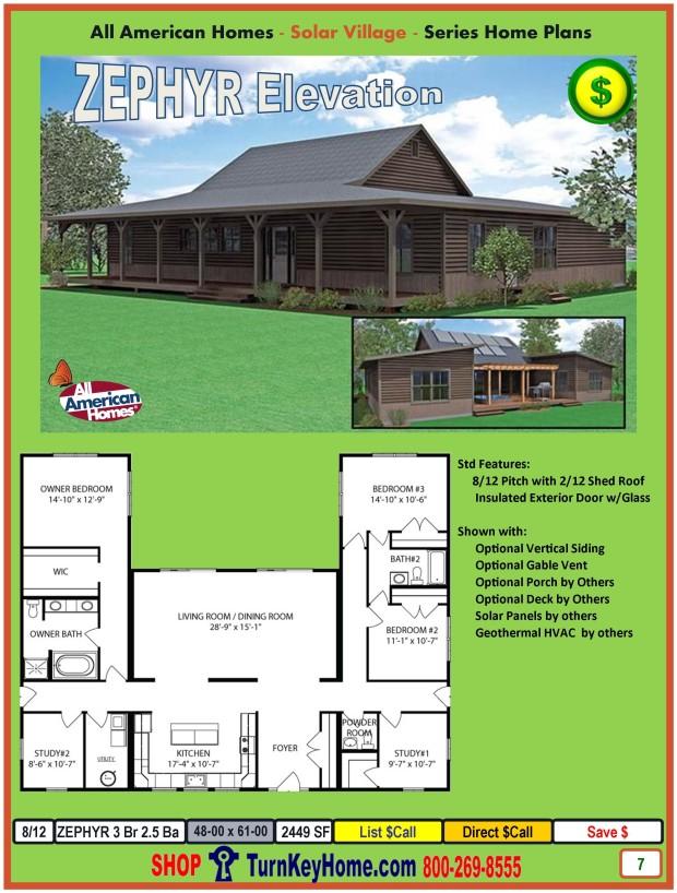 Zephyr Solar Village Modular Home
