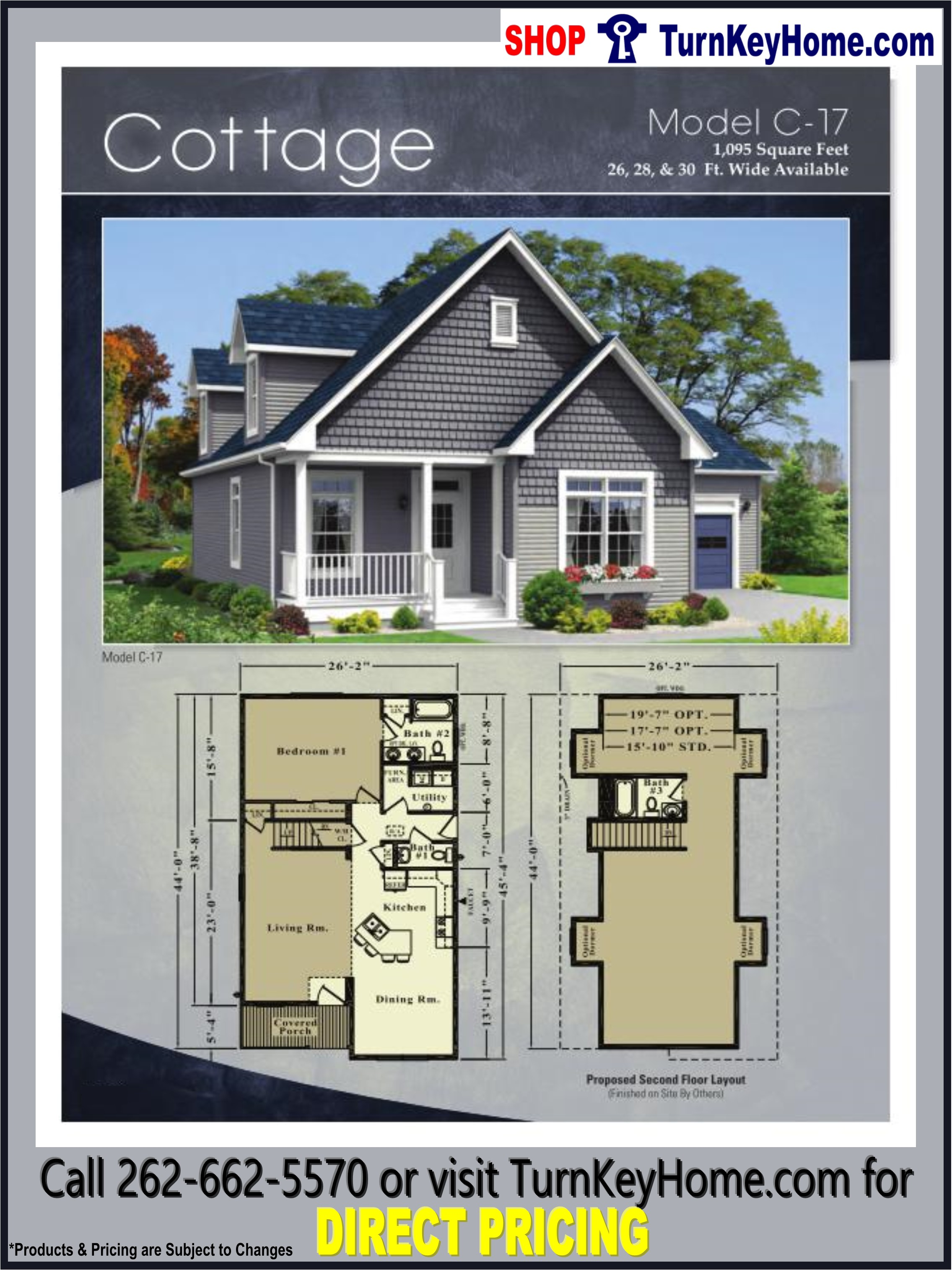 COTTAGE Cape Cod Style Home 1 Bed 1.5 Bath Plan 1095 SF ... on 2 bedroom mobile home plans, single mobile home plans, 4 bedroom mobile home plans, 5 bedroom mobile home plans, 1 bedroom mobile home plans,