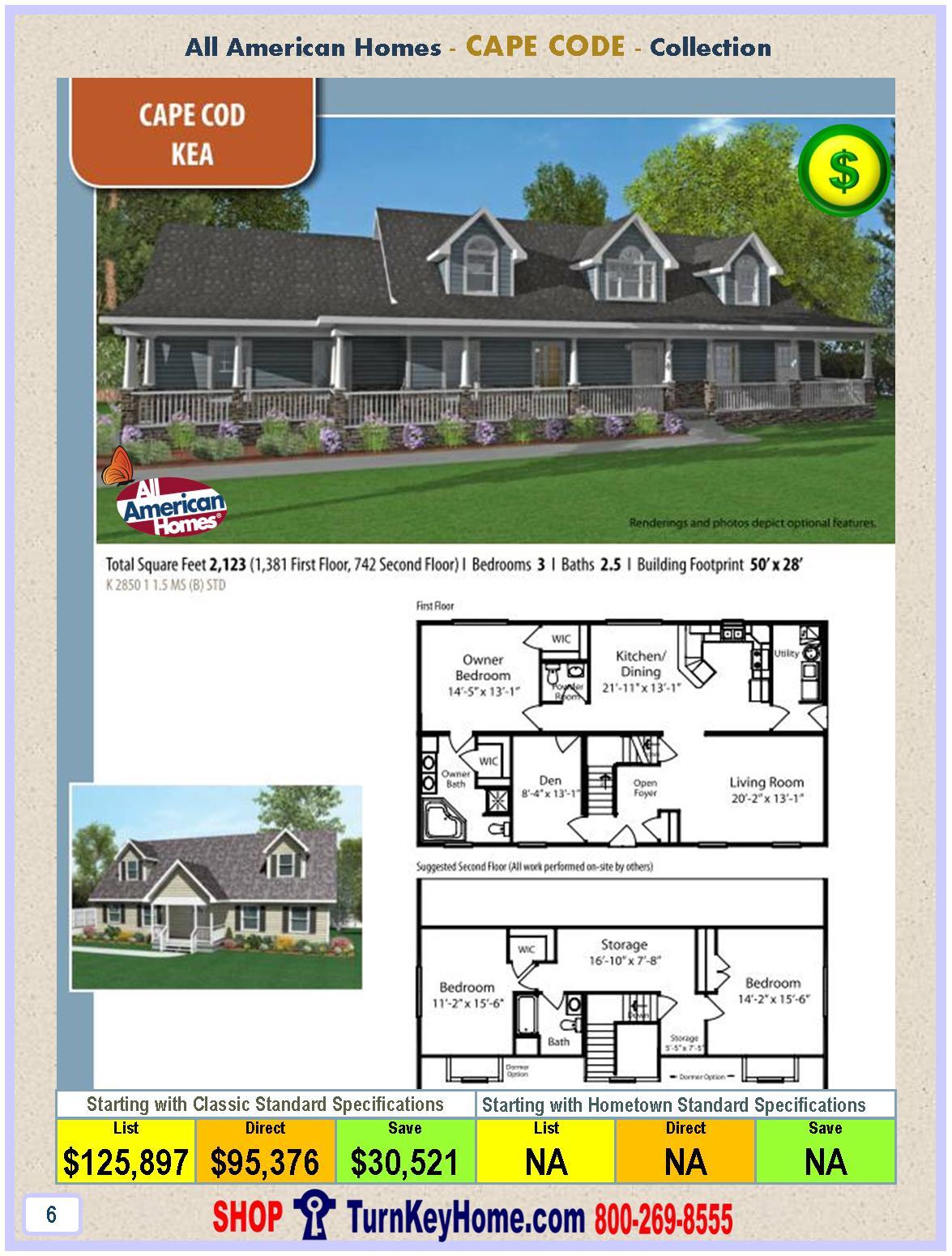 Modular.Home.All.American.Homes.Cape.Cod.KEA.Plan.Price.P6.11.28