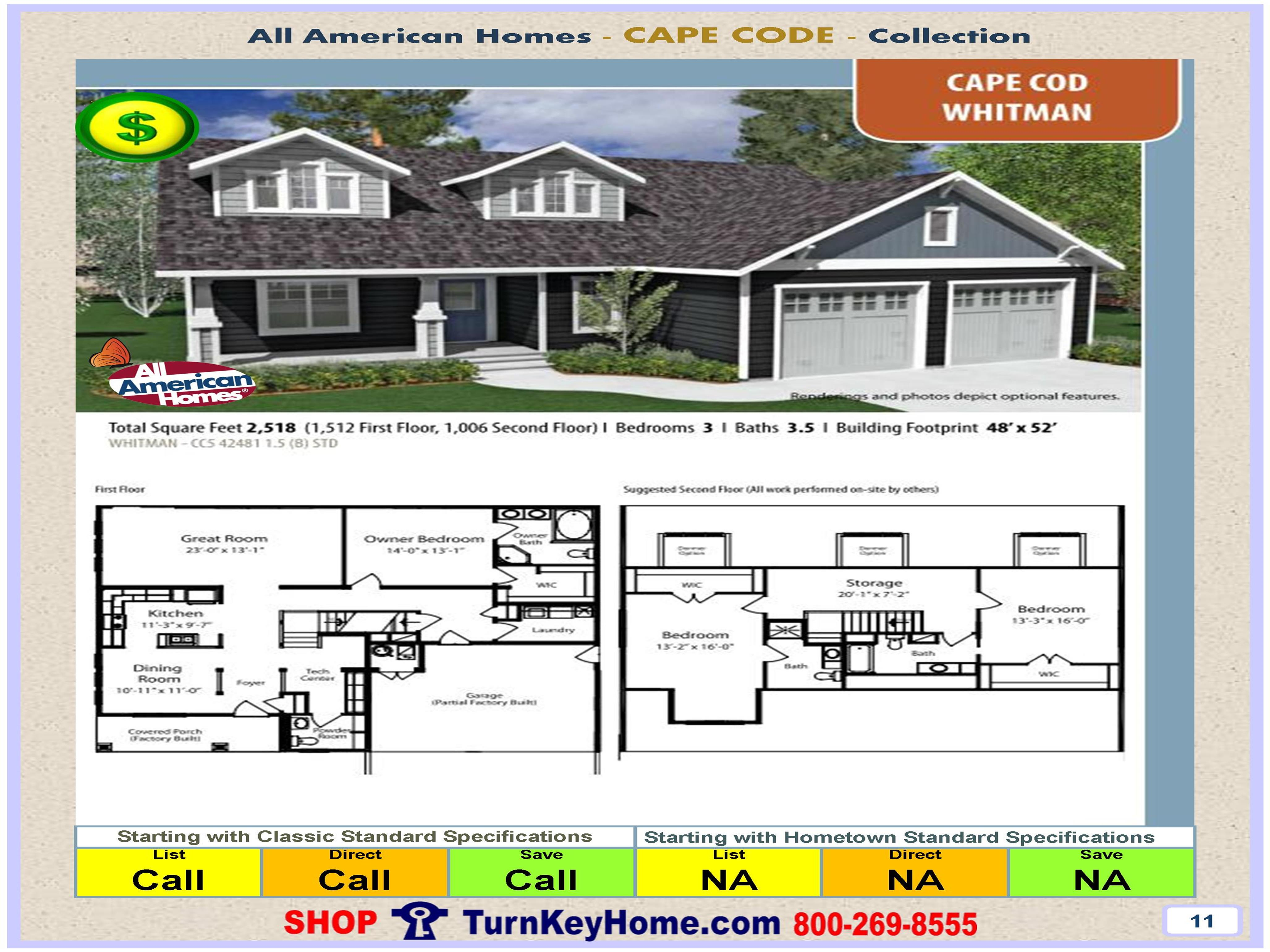 modular home all american homes cape cod whitman plan price modular home all american homes cape cod whitman plan price modular homes manufactured homes priced
