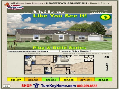 Modular.Home.All.American.Homes.Hometown.Collection.ABILENE.Plans.Price.P20.1215.p