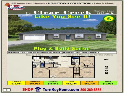 Modular.Home.All.American.Homes.Hometown.Collection.CLEAR.CREEK.Plans.Price.P6.1215.p