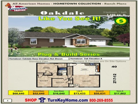 Modular.Home.All.American.Homes.Hometown.Collection.OAKDALE.Plans.Price.P4.1215.p
