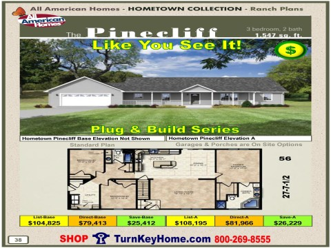Modular.Home.All.American.Homes.Hometown.Collection.PINECLIFF.Plans.Price.P38.1215.p