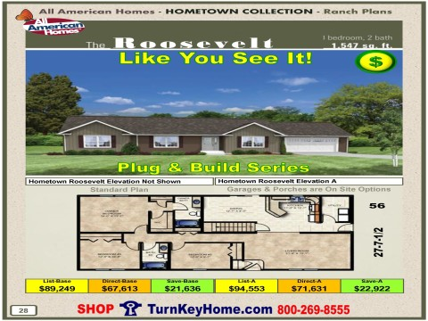 Modular.Home.All.American.Homes.Hometown.Collection.ROOSEVELT.Plans.Price.P28.1215.p