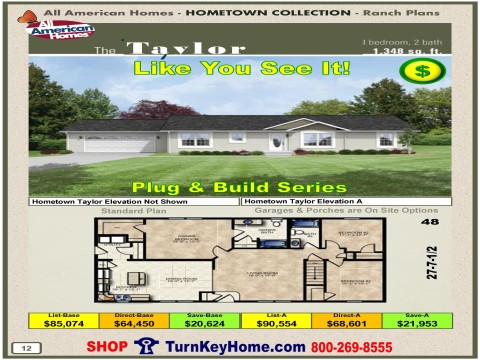 Modular.Home.All.American.Homes.Hometown.Collection.TAYLOR.Plans.Price.P12.1215.p