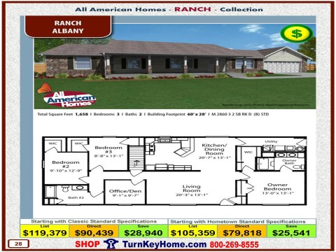 Modular.Home.All.American.Homes.Ranch.Collection.ALBANY.Plan.Price.Catalog.P28.1215.p