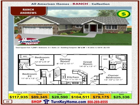 Modular.Home.All.American.Homes.Ranch.Collection.ANDREWS.Plan.Price.Catalog.P22.1215.p