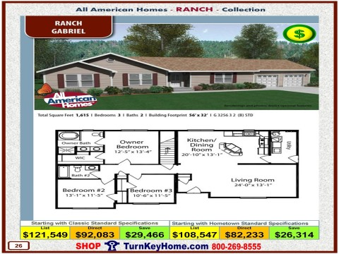 Modular.Home.All.American.Homes.Ranch.Collection.GABRIEL.Plan.Price.Catalog.P26.1215.p