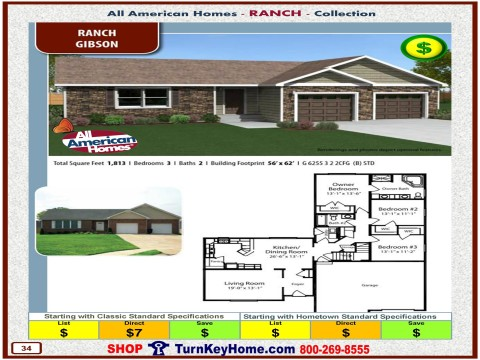Modular.Home.All.American.Homes.Ranch.Collection.GIBSON.Plan.Price.Catalog.P34.1215.p