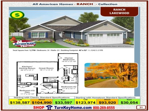 Modular.Home.All.American.Homes.Ranch.Collection.LAKEWOOD.Plan.Price.Catalog.P31.1215.p