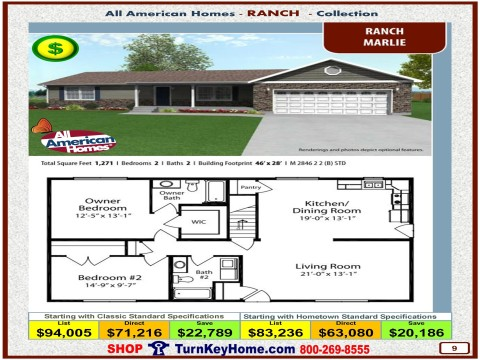 Modular.Home.All.American.Homes.Ranch.Collection.MARLIE.Plan.Price.Catalog.P9.1215.p