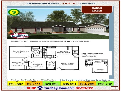 Modular.Home.All.American.Homes.Ranch.Collection.MAYER.Plan.Price.Catalog.P11.1215.p
