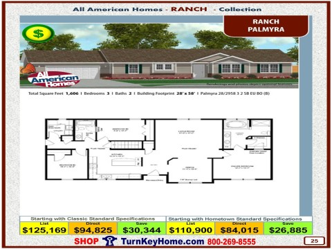 Modular.Home.All.American.Homes.Ranch.Collection.PALMYRA.Plan.Price.Catalog.P25.1215.p