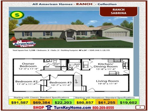 Modular.Home.All.American.Homes.Ranch.Collection.SABRINA.Plan.Price.Catalog.P7.1215.p