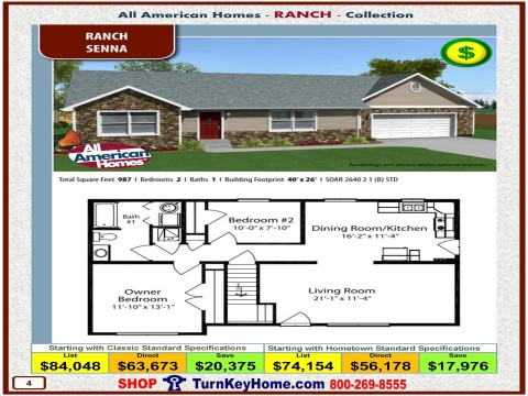 Modular.Home.All.American.Homes.Ranch.Collection.SENNA.Plan.Price.Catalog.P4.1215.p
