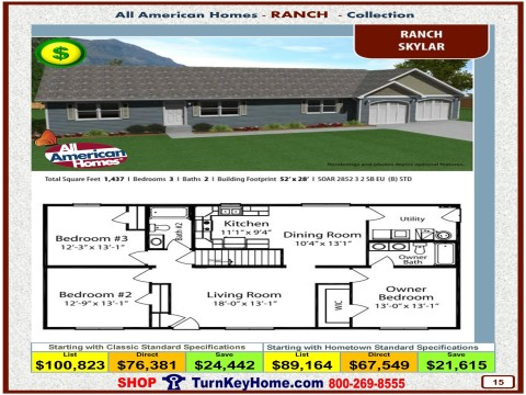 Modular.Home.All.American.Homes.Ranch.Collection.SKYLAR.Plan.Price.Catalog.P15.1215.p