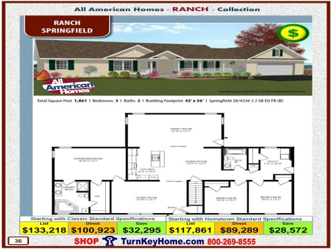 Modular.Home.All.American.Homes.Ranch.Collection.SPRINGFIELD.Plan.Price.Catalog.P36.1215.p
