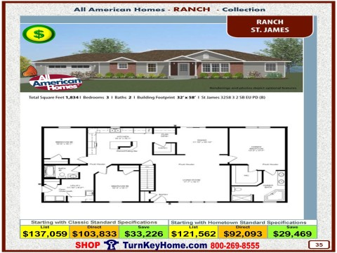Modular.Home.All.American.Homes.Ranch.Collection.ST.JAMES.Plan.Price.Catalog.P35.1215.p
