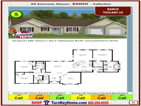 Modular.Home.All.American.Homes.Ranch.Collection.TUSCANY.28.Plan.Price.Catalog.P41.1215.p