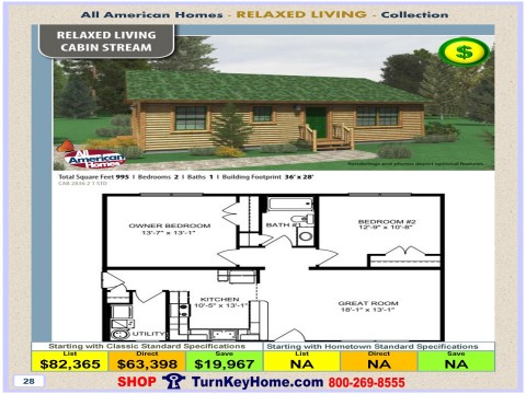 Modular.Home.All.American.Homes.Relaxed.Living.CABIN.STREAM.Plan.Price.P28.1115.p