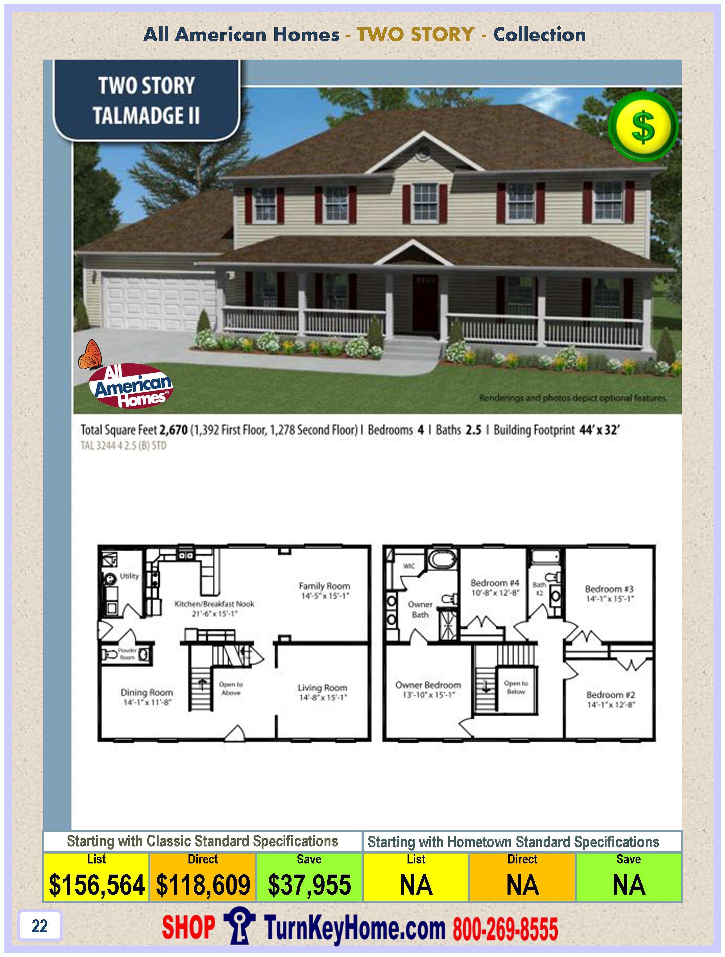 modular home all american homes two story talmadge ll plan pricemore here. Modular Home Pricing  4 Bedroom Modular Home Prices Homes 4