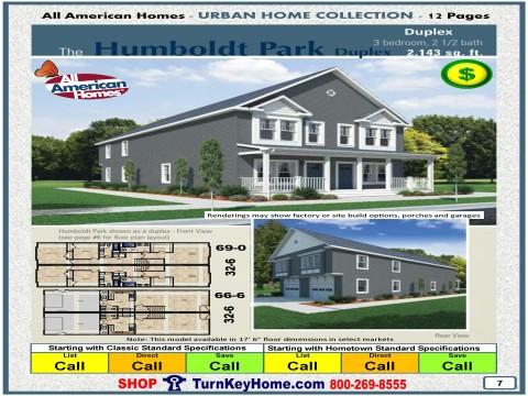 Modular.Home.All.American.Homes.Urban.Home.HUMBOLDT.PARK.DUPLEX.Plan.Price.P7.1215.P