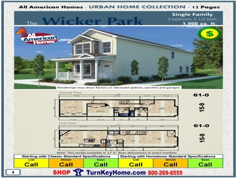 Modular.Home.All.American.Homes.Urban.Home.WICKER.PARK.SINGLE.FAMILY.Plan.Price.P4.1215.p