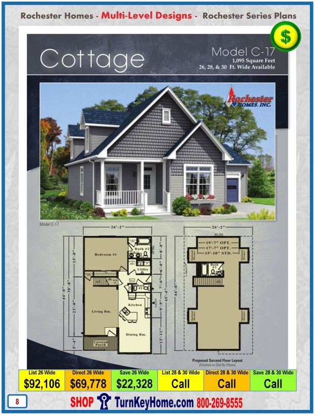 cottage rochester modular home cape cod multi level plan price security tips for multi level indianapolis homes