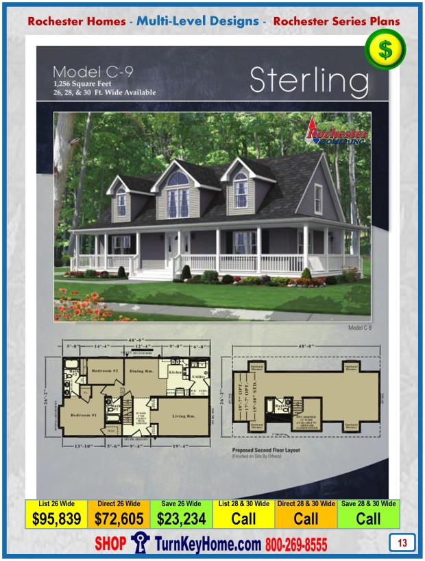 Modular.Home.Rochester.Homes.Cape.Cod.Sterling.C9.P13.1215