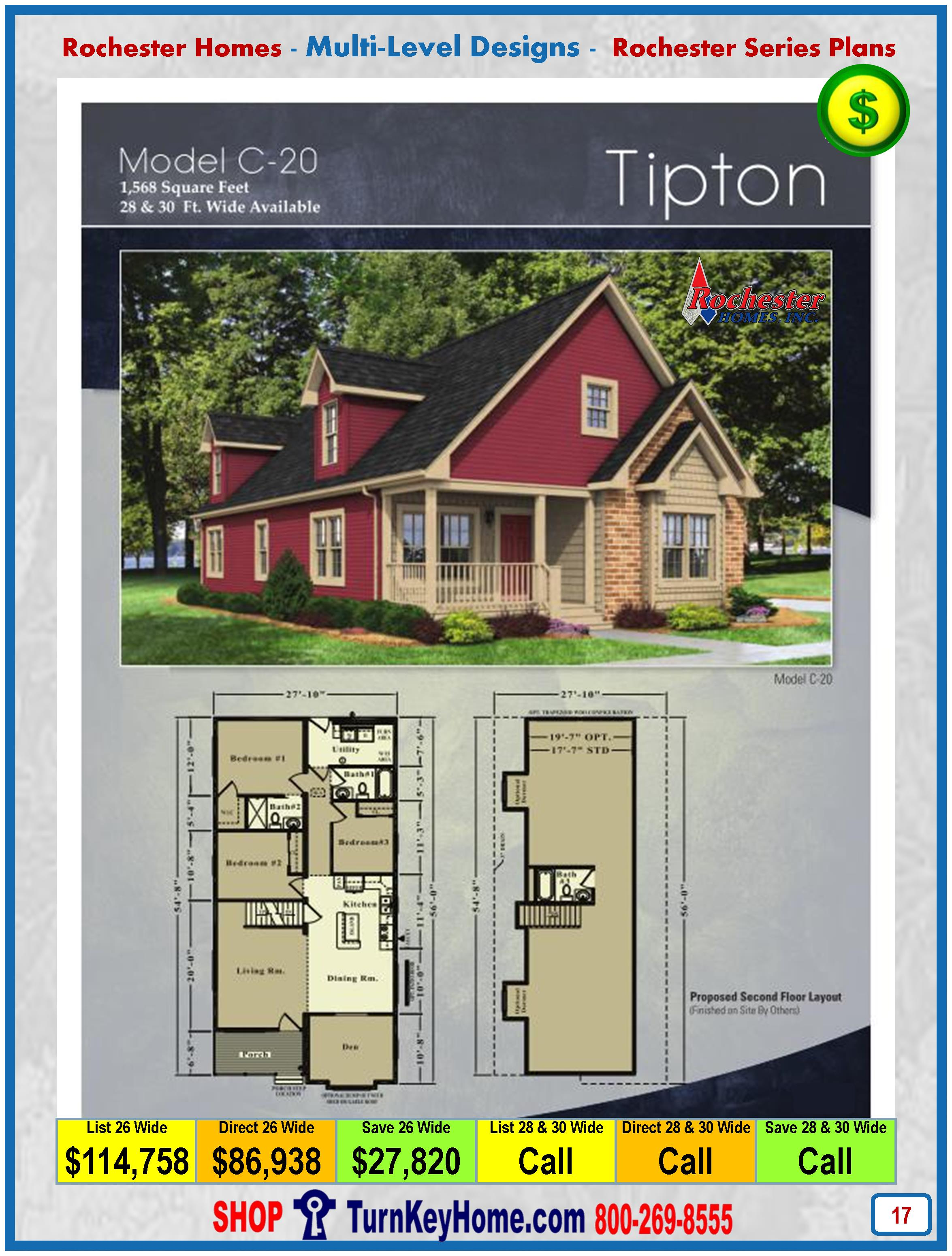 tipton rochester modular home cape cod multi level plan price home rochester homes cape cod tipton c20