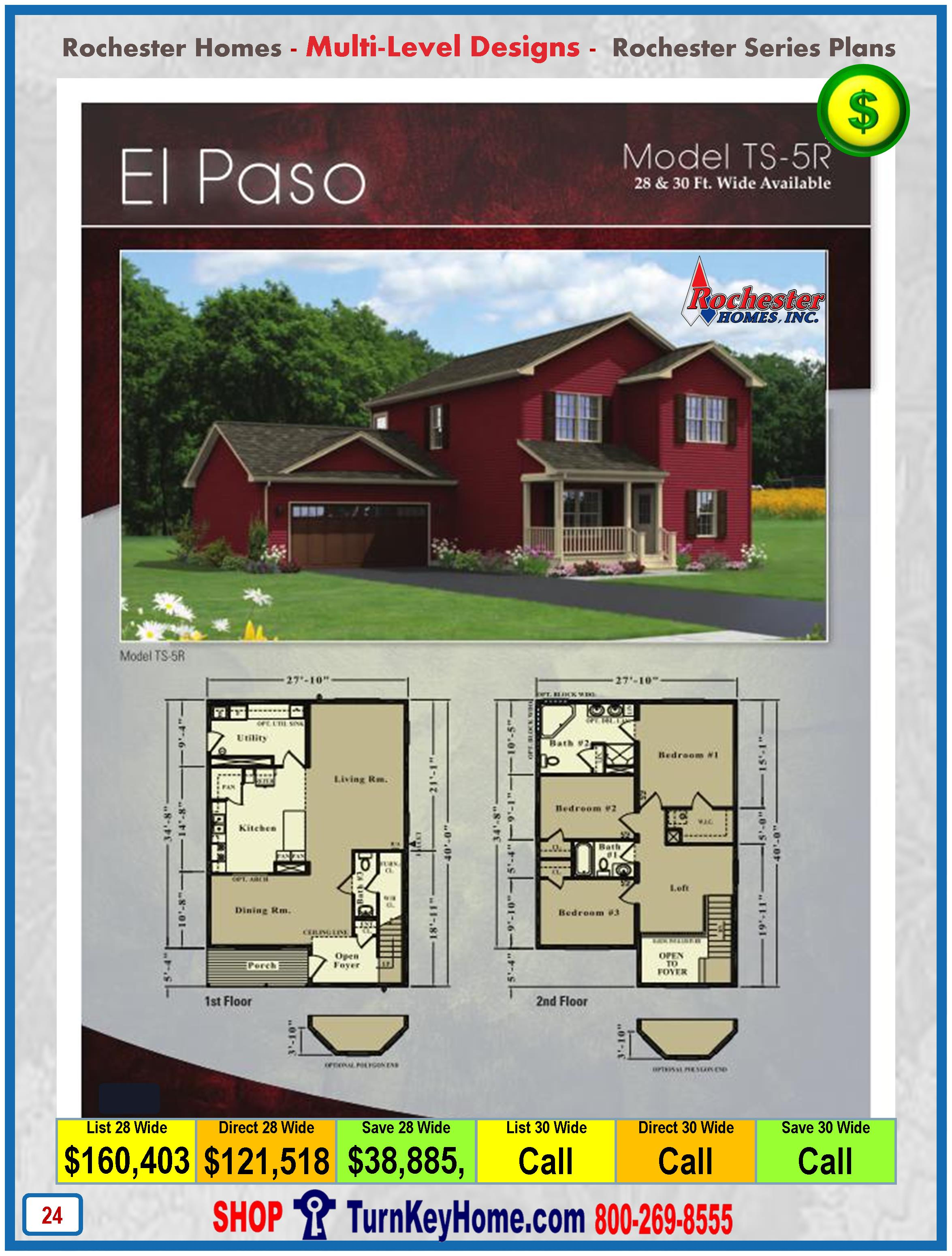 Modular.Home.Rochester.Homes.Two.Story.El.Paso.TS5R.P24.1215