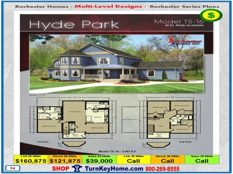 modular home designs and prices. HYDE PARK Rochester Homes Two Story Modular Home Plan Price FOR SE  Wisconsin and NE Illinois Plans Prices