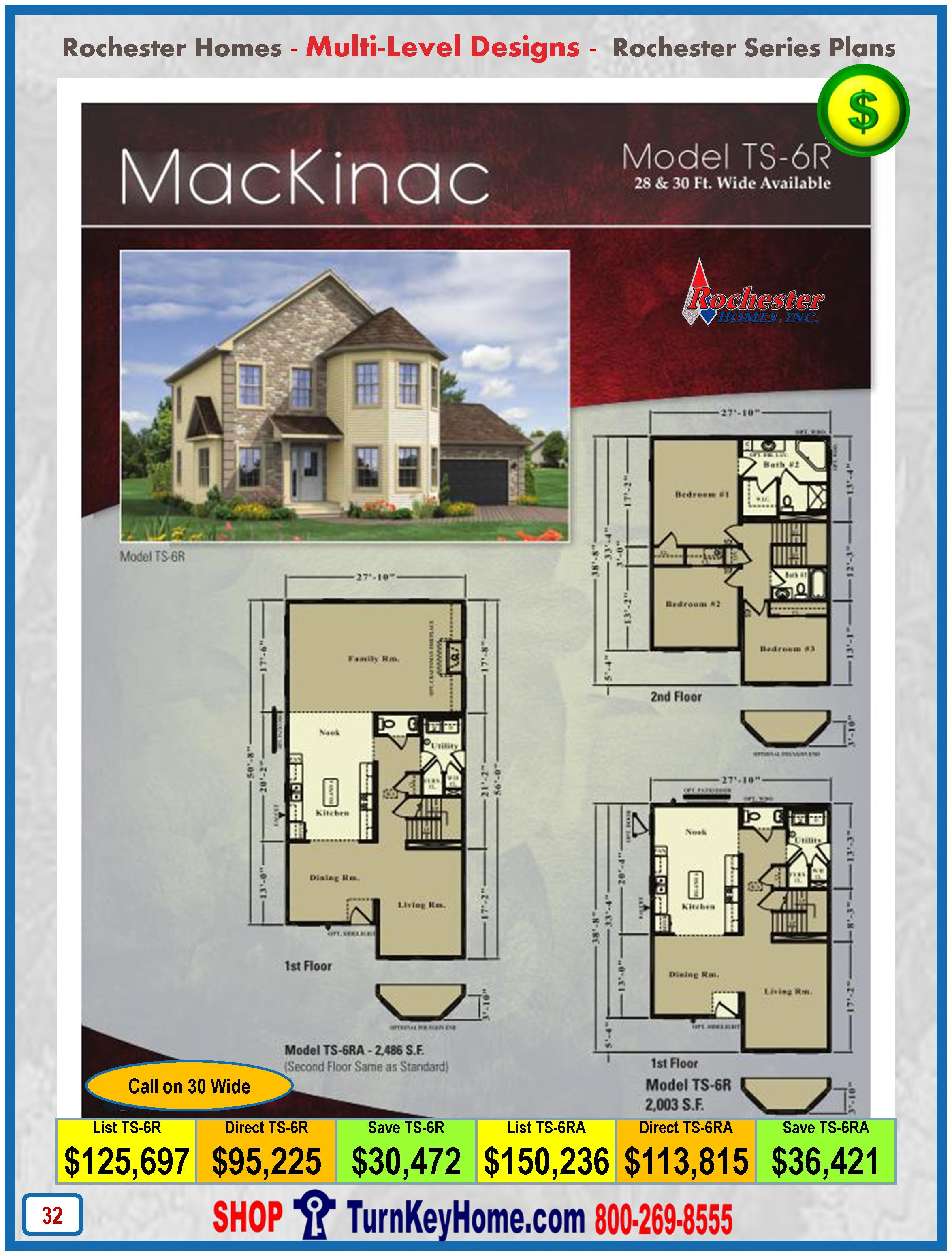Modular.Home.Rochester.Homes.Two.Story.Mackinac.TS6R.P32.1215