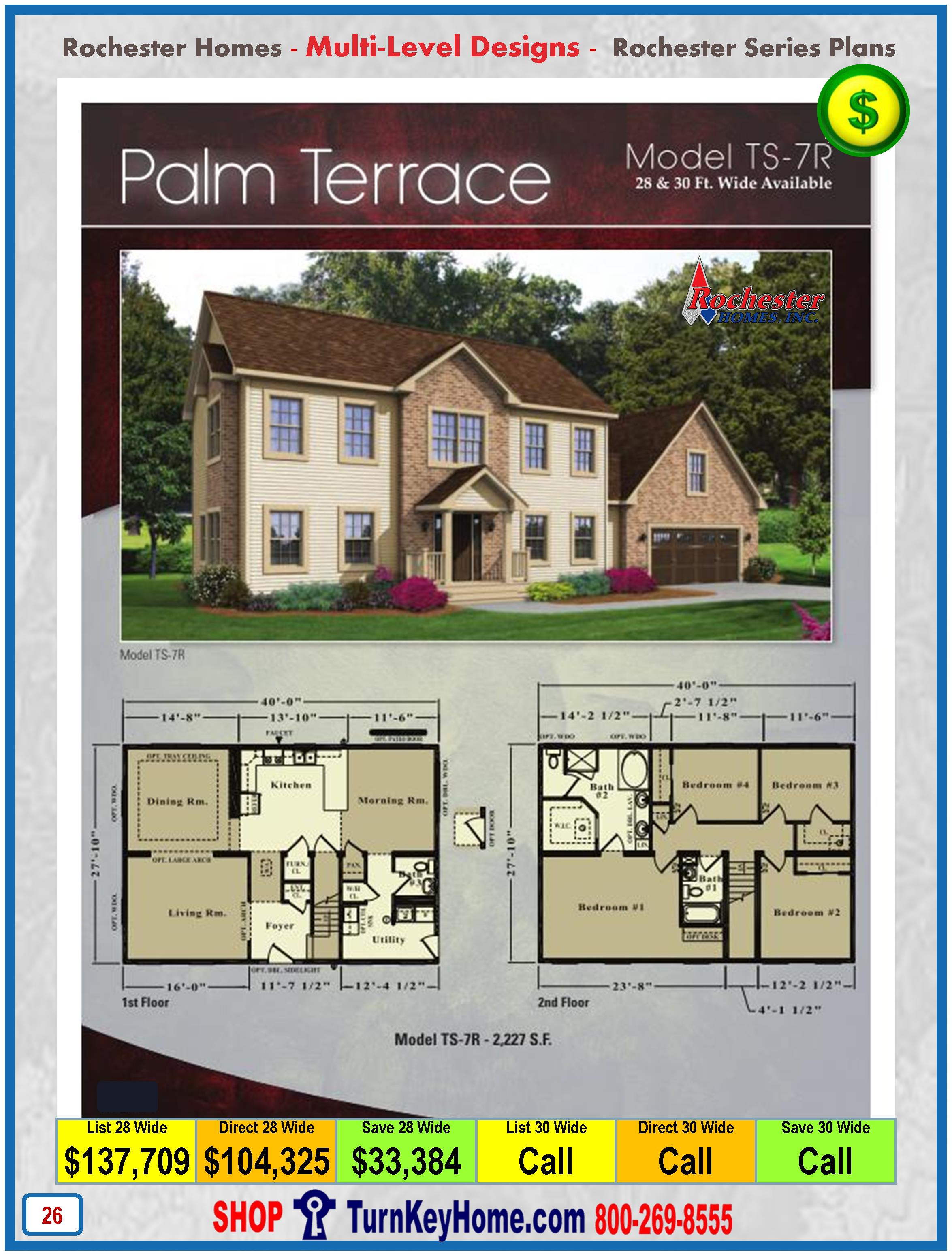 Modular.Home.Rochester.Homes.Two.Story.Palm.Terrace.TS7R.P26.1215