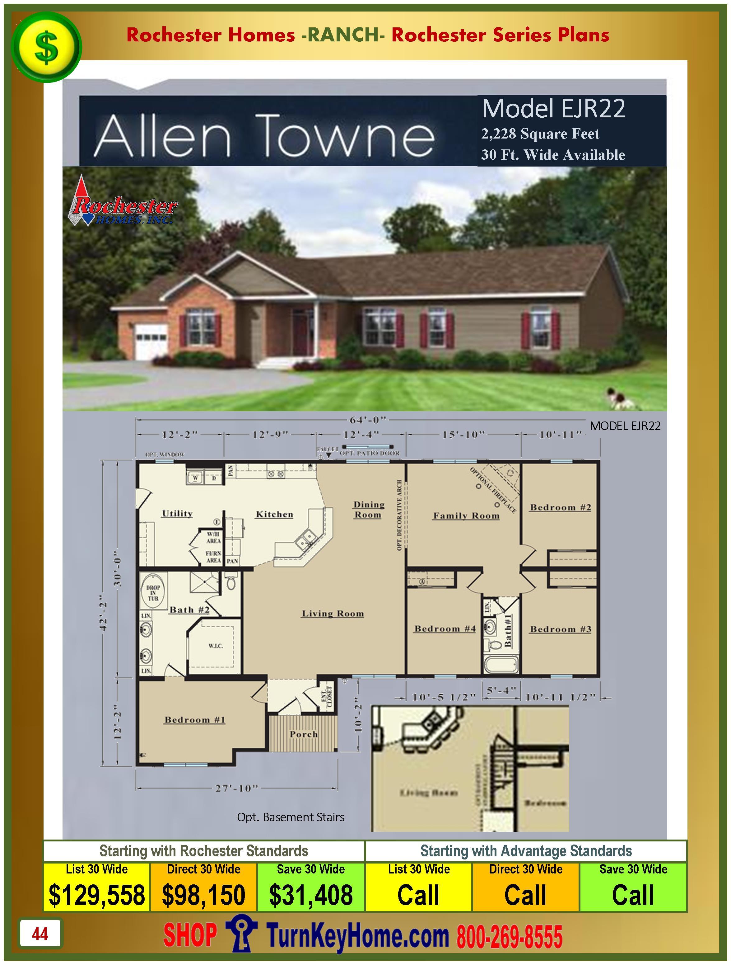 Modular.Homes.Rochester.Home.Inc.Allen.Towne.EJR22.Ranch.Plan.Price.Catalog.P44.1215