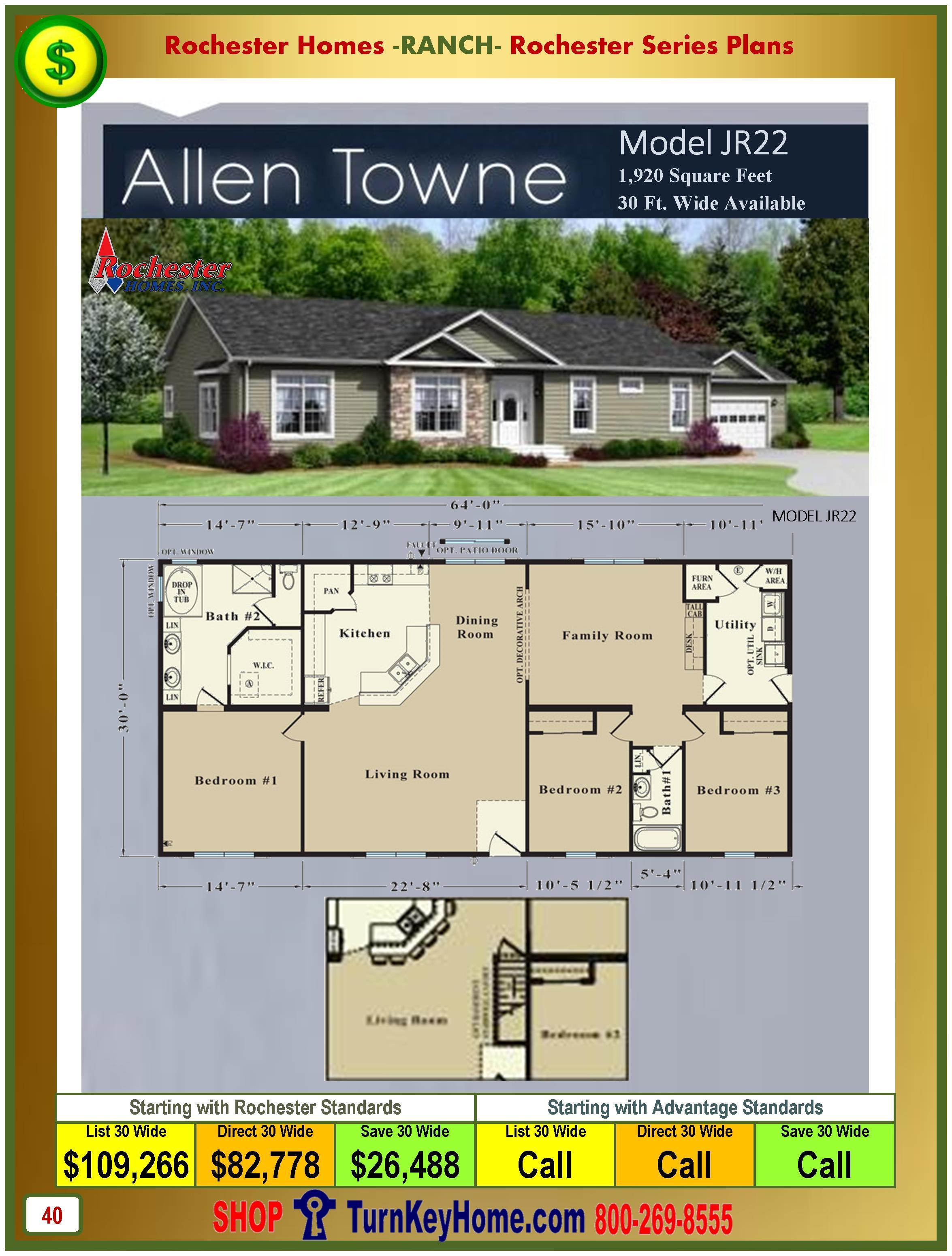 Modular.Homes.Rochester.Home.Inc.Allen.Towne.JR22.Ranch.Plan.Price.Catalog.P40.1215