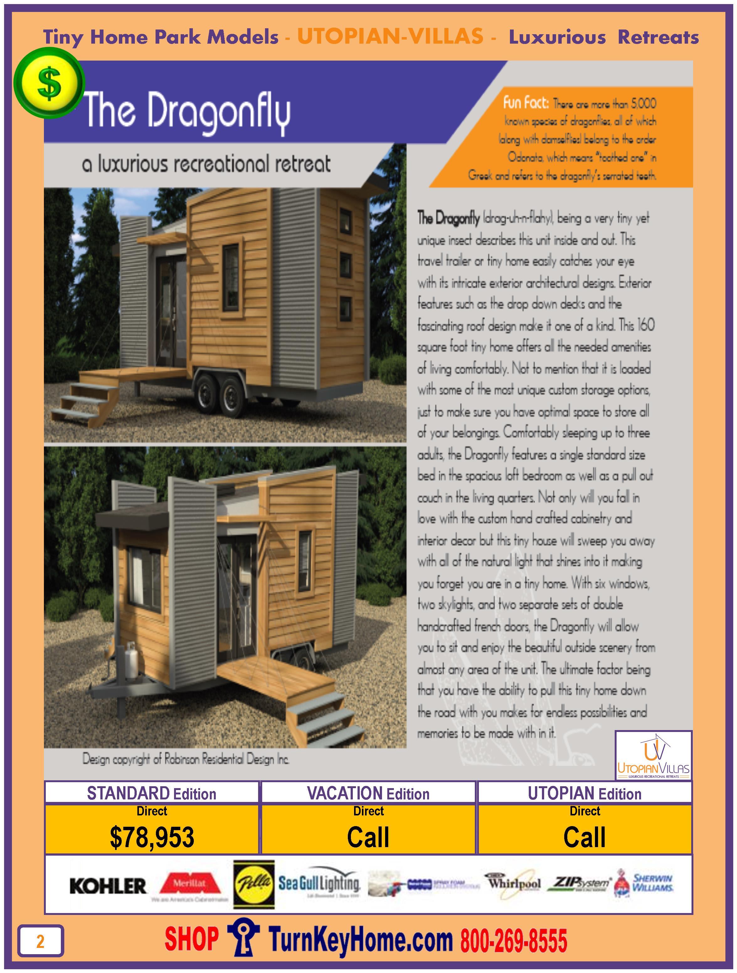 Tiny.Home.Park.Model.Utopian.Villas.DRAGONFLY.Plan.Price.P2.0116