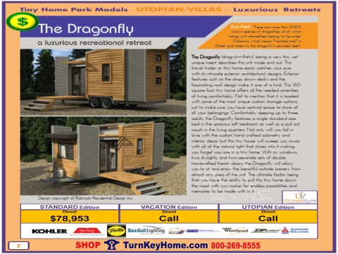 Tiny.Home.Park.Model.Utopian.Villas.DRAGONFLY.Plan.Price.P2.0116.p