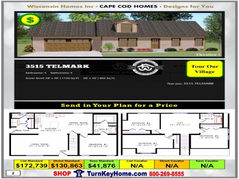 Modular.Home.Catalog.Wisconsin.Homes.Inc.Cape.Cod.Telmark.3515.1.P2.1215.p
